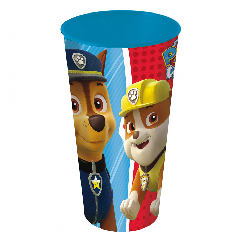 Vaso movie 560ml. La Patrulla Canina Colours