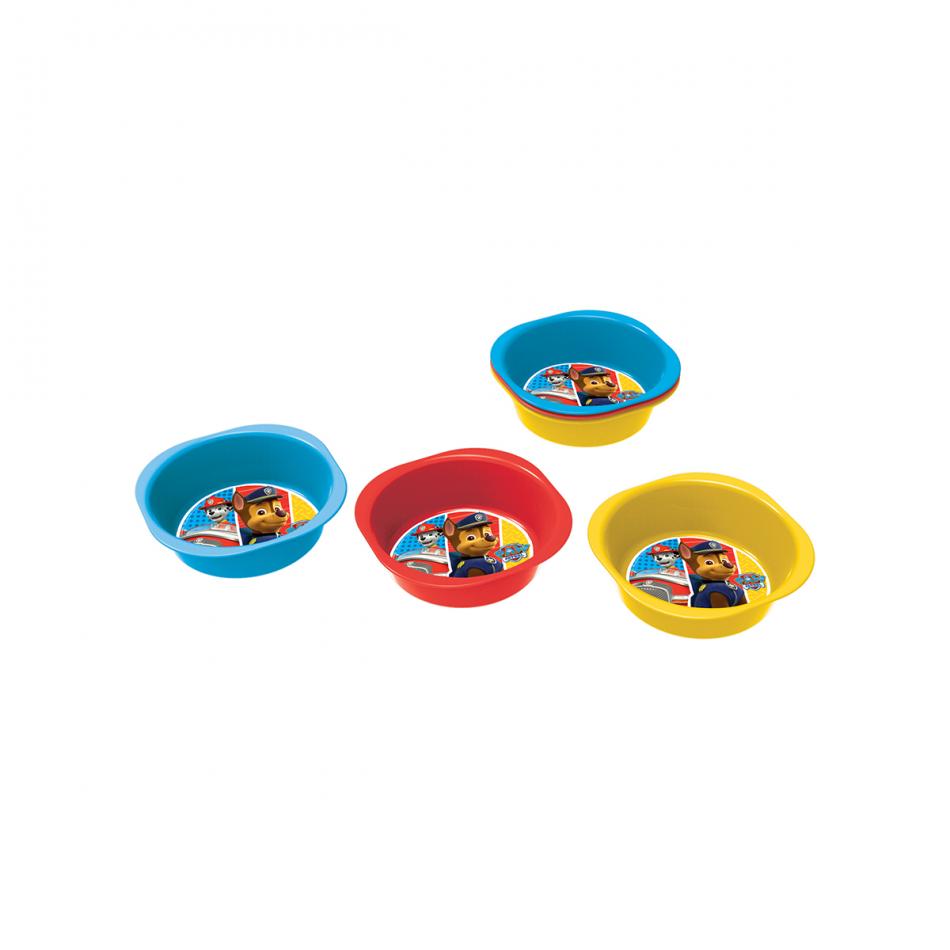 Set de 3 cuencos picnic La Patrulla Canina Colours