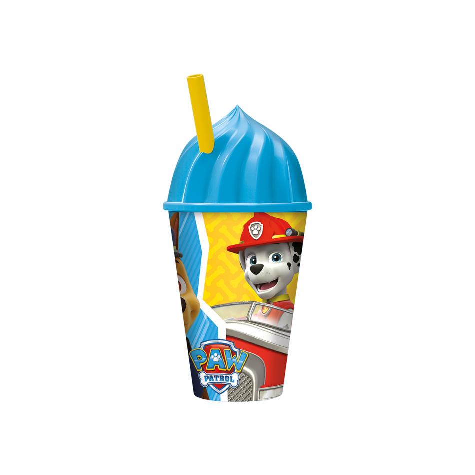 Vaso helado 430ml. La Patrulla Canina Colours