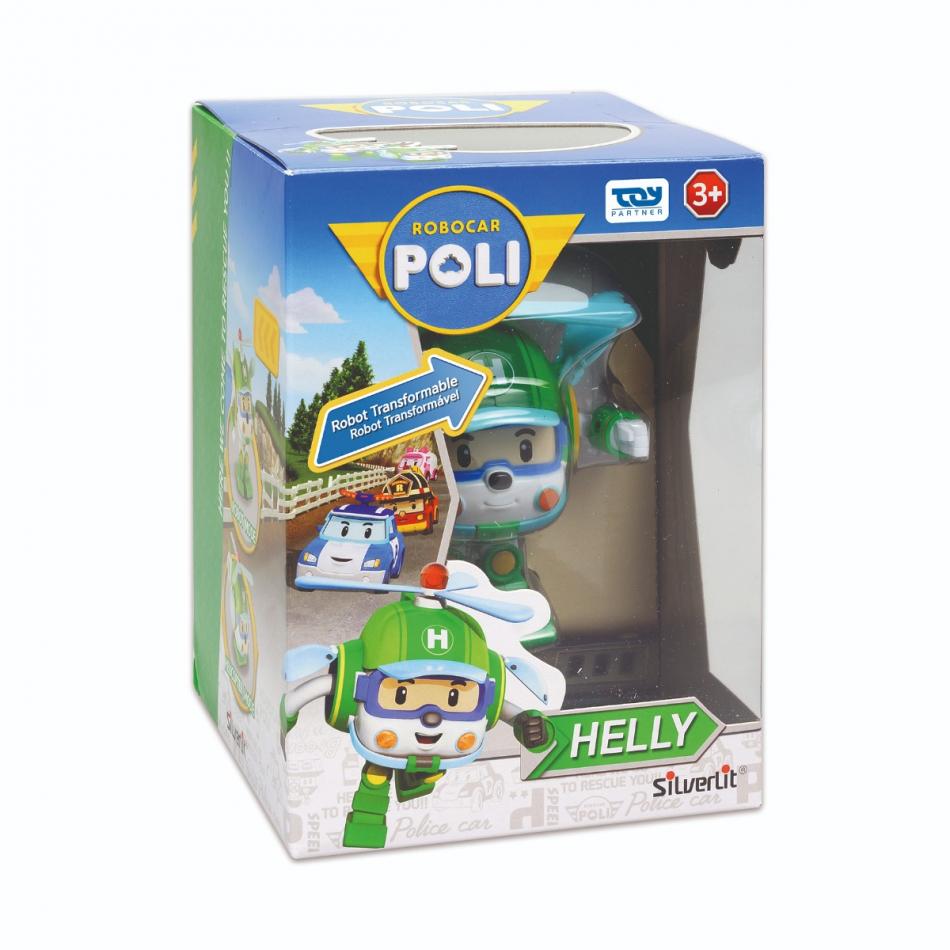 Personaje transformable de coche a robot - Modelo Helly