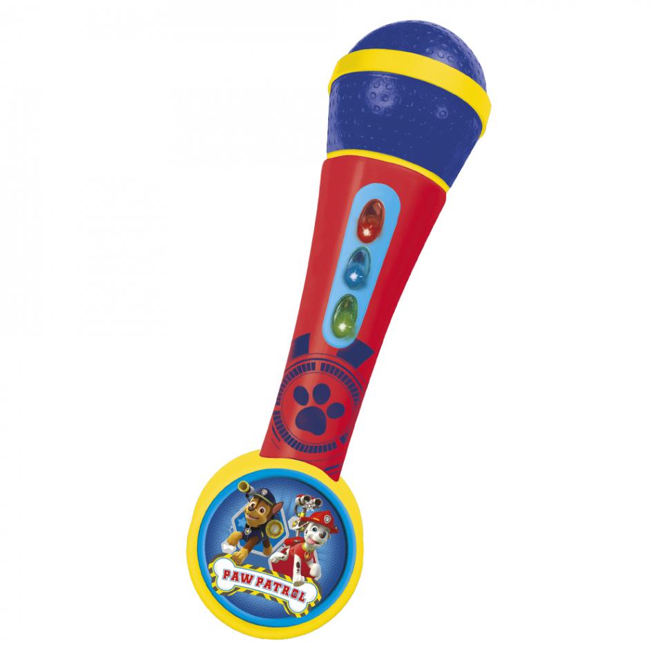 Micro de mano con amplificador y ritmos La Patrulla Canina