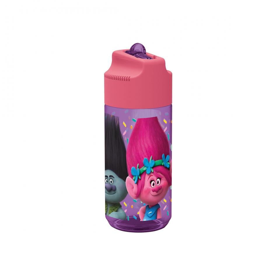 Botella tritan hidro 430ml. Trolls