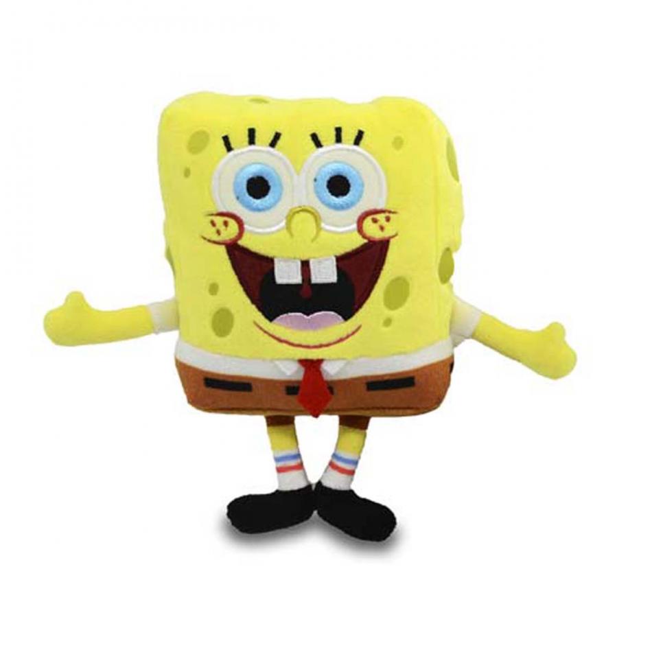 Mini Peluche Bob Esponja - Bob Esponja A (Sonrisa)