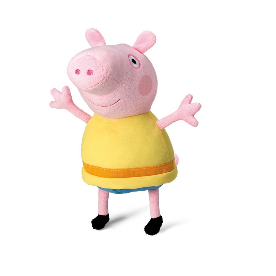 Peluche  31 cm. George Pig