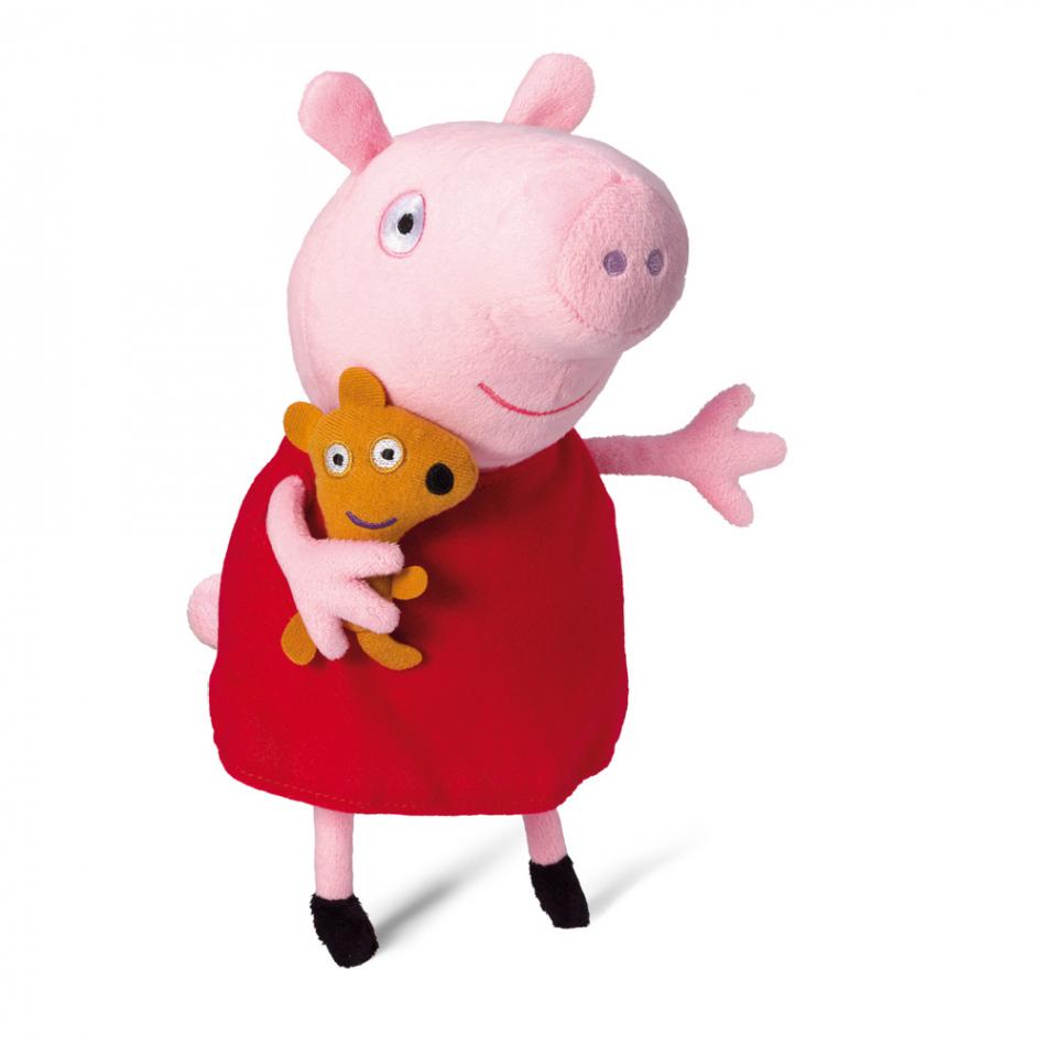 Peluche con voz Peppa Pig