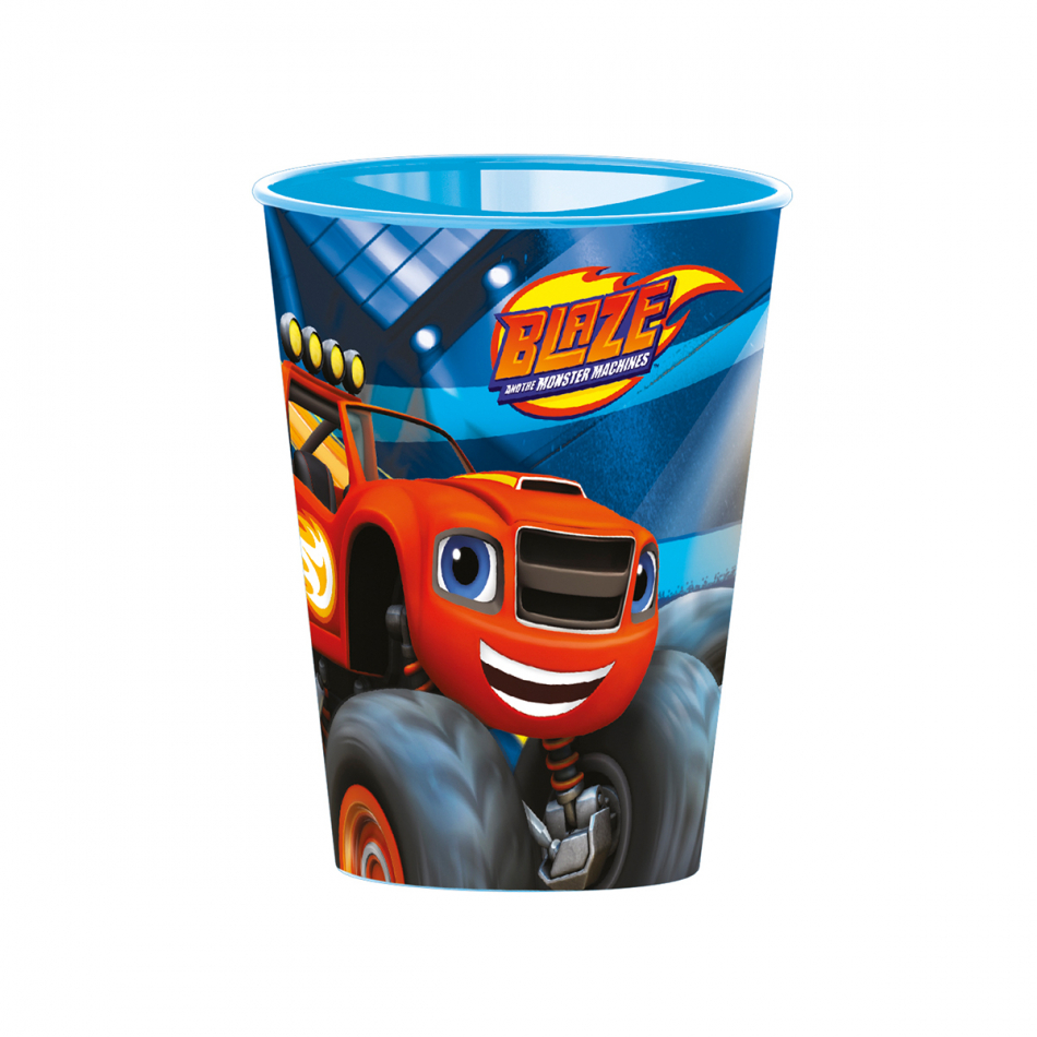 Vaso easy 260ml. Blaze and the Monster machines