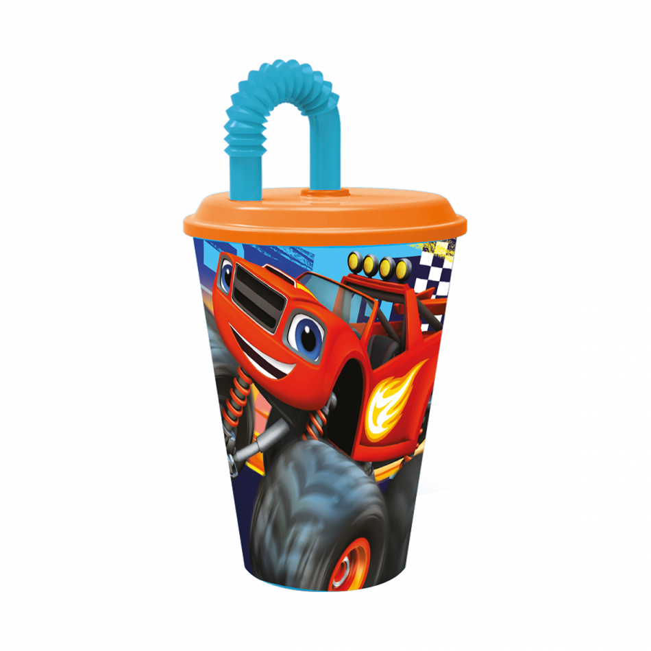 Vaso caña easy 430ml. Blaze and the Monster machines