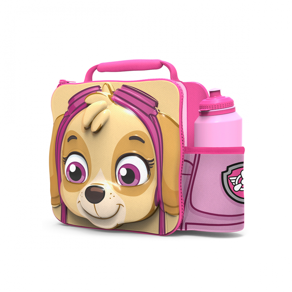 Set 3D - bolsa aislante y botella easy sport La Patrulla Canina Girl Skye