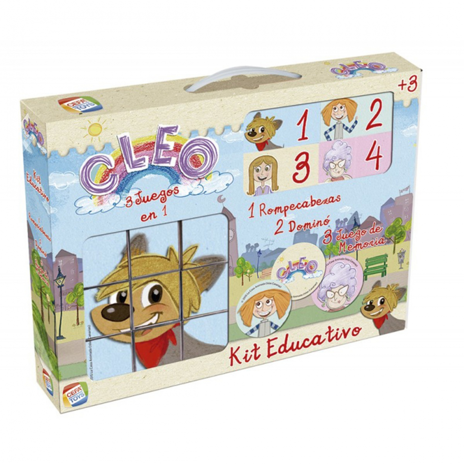 KIT EDUCATIVO CLEO