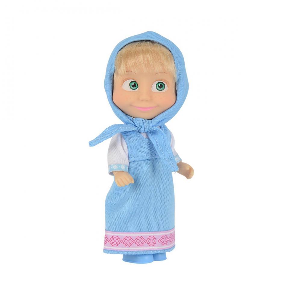 Masha y el Oso - Muñeca 12cm vestido azul
