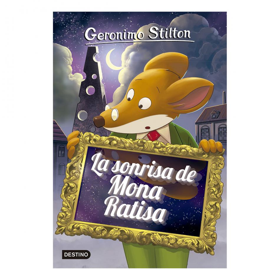 Gerónimo Stilton. La sonrisa de mona ratisa