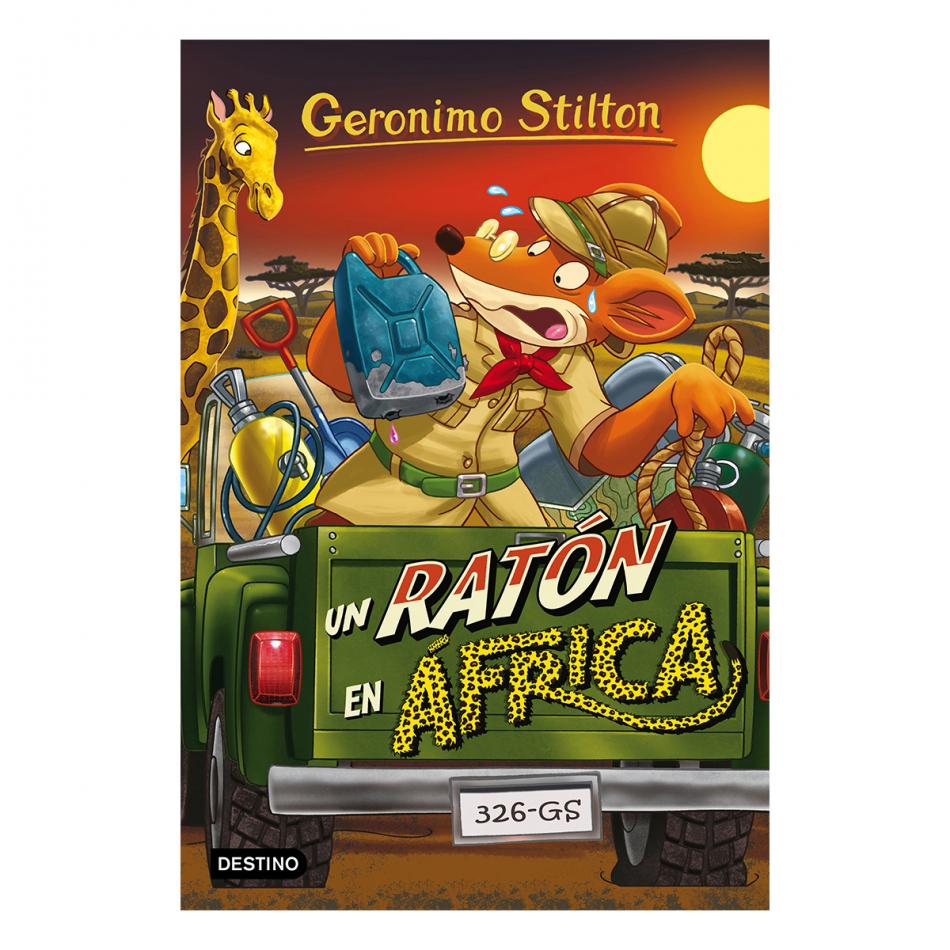 Gerónimo Stilton. Un ratón en África