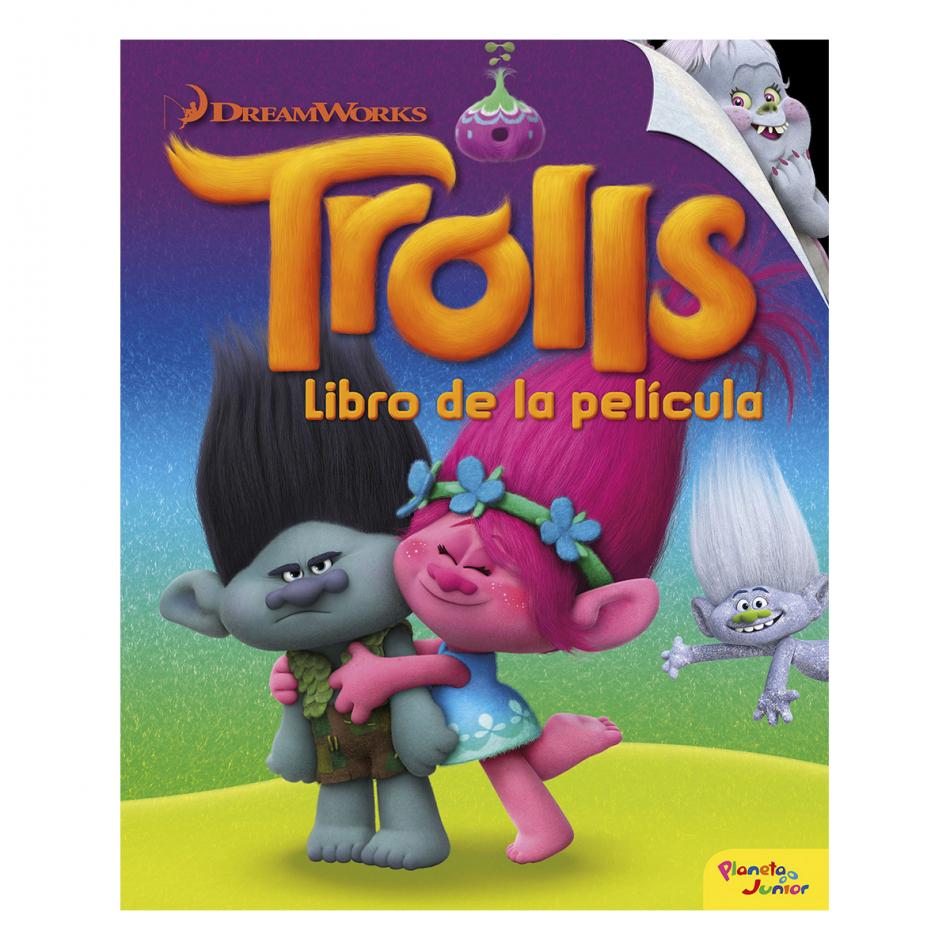 Trolls. Libro de la película