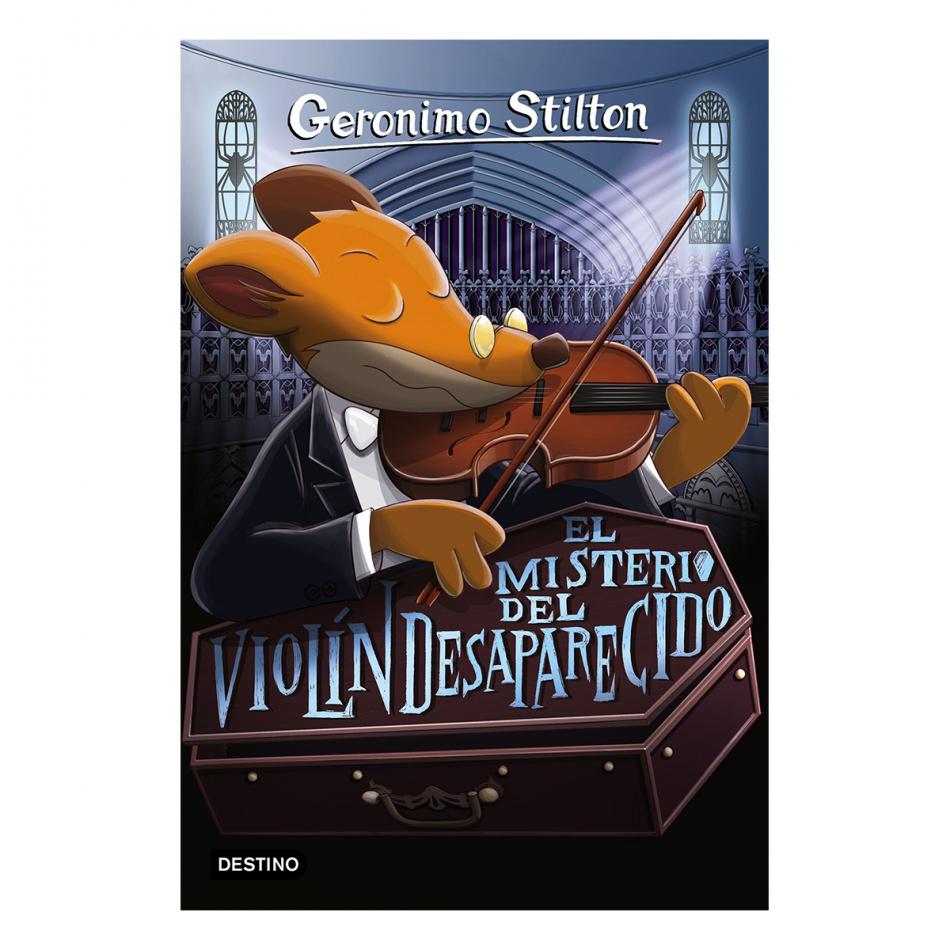 Gerónimo Stilton. El misterio del violín desaparecido