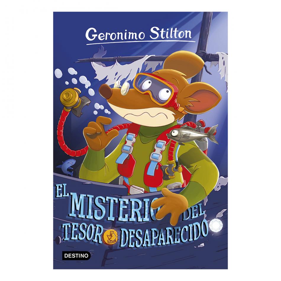 Gerónimo Stilton. El misterio del tesoro desaparecido