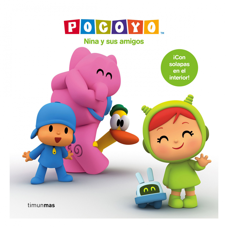 Pocoyo. Nina y sus amigos