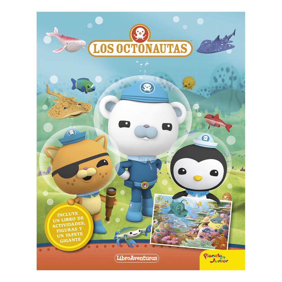 Los Octonautas. Libro aventuras. Libro-juego
