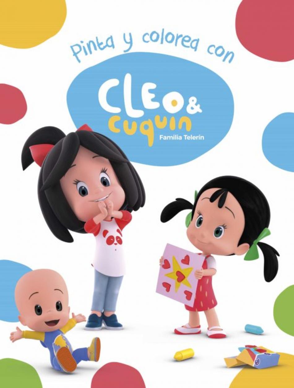 Cleo y Cuquin. Pinta y colorea con Cleo y Cuquín.
