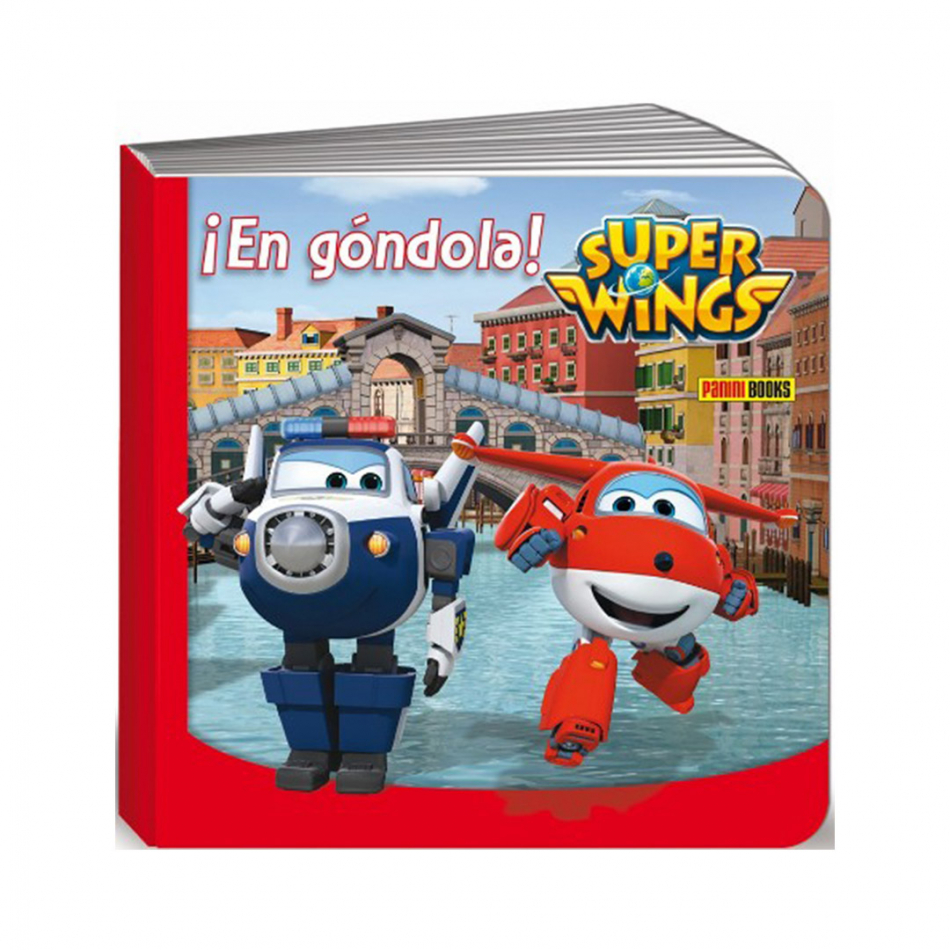 En góndola Super Wings