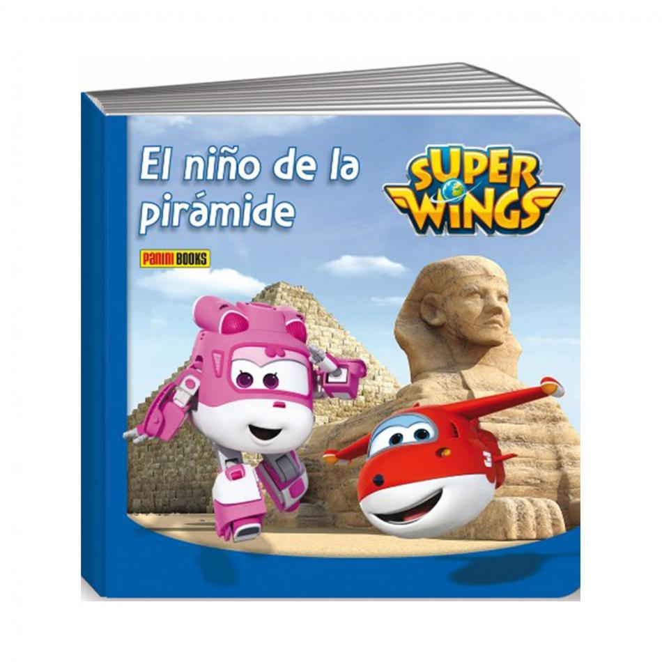 El niño de la pirámide Super Wings