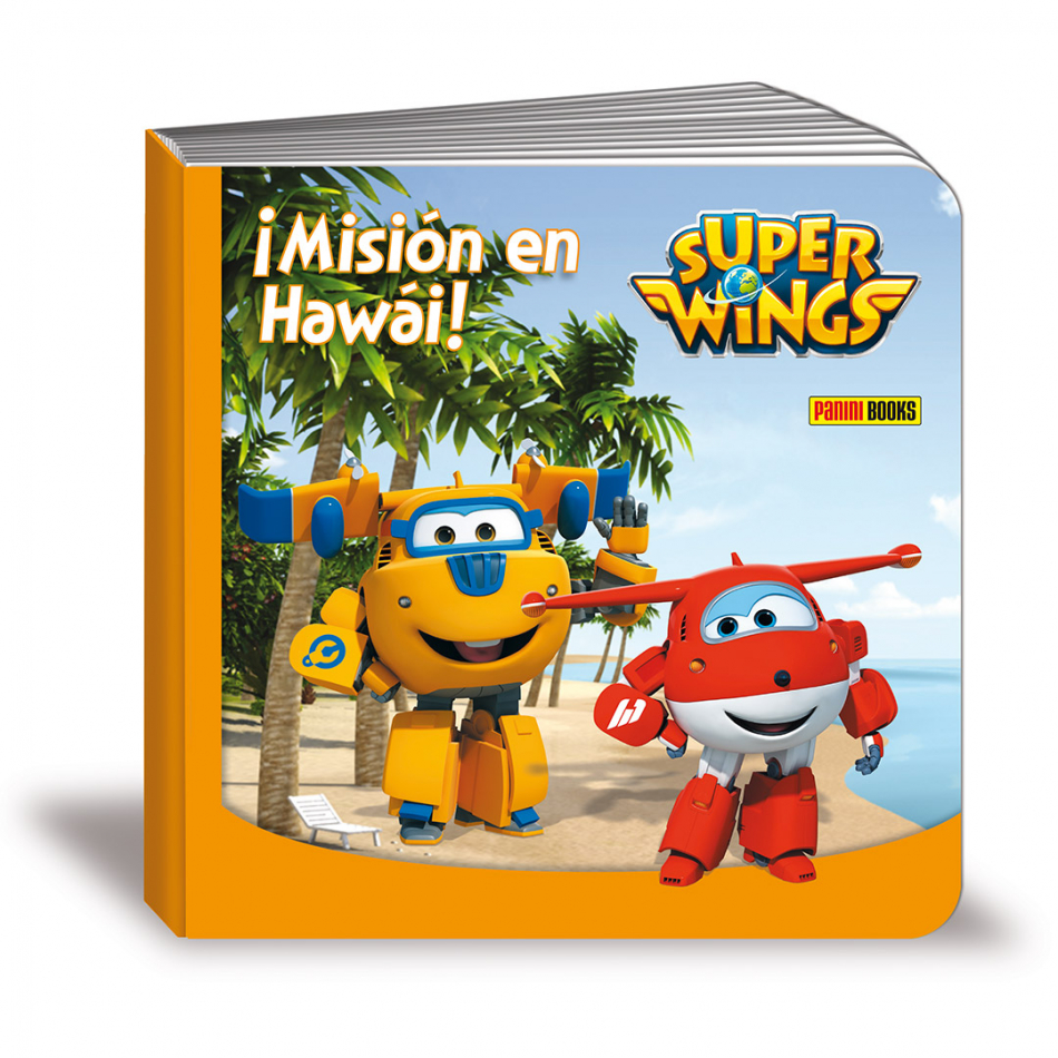 Misión en Hawái Super Wings