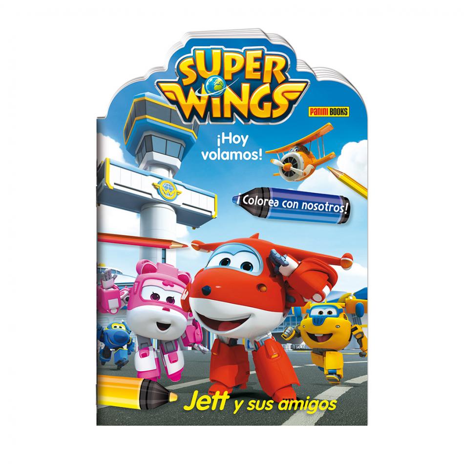 ¡Hoy volamos! Jett y sus amigos Super Wings