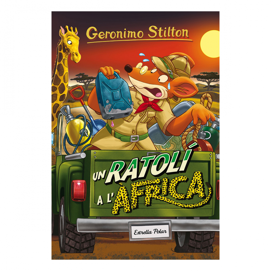 Gerónimo Stilton. Un ratolí a l'africa