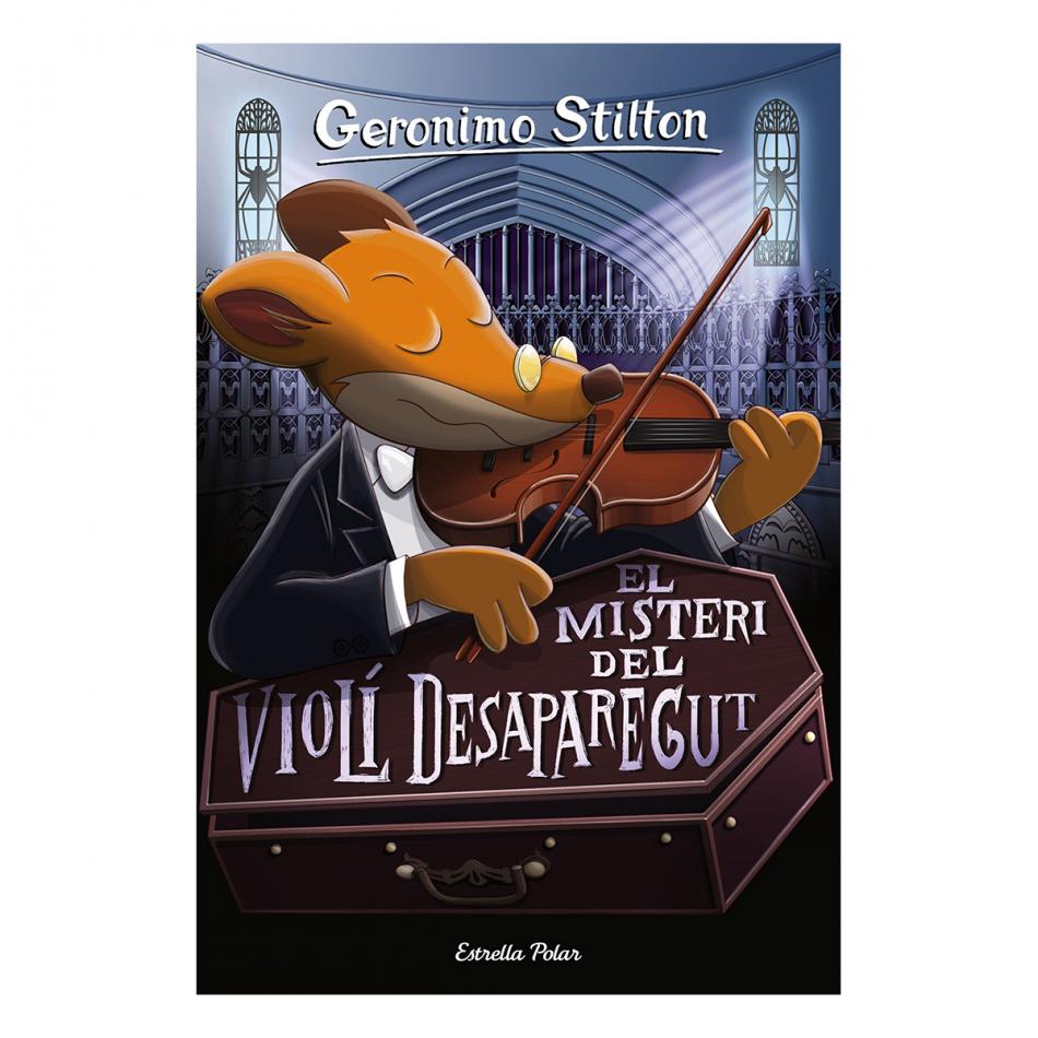 Geronimo Stilton. El misteri del violi desaparegut