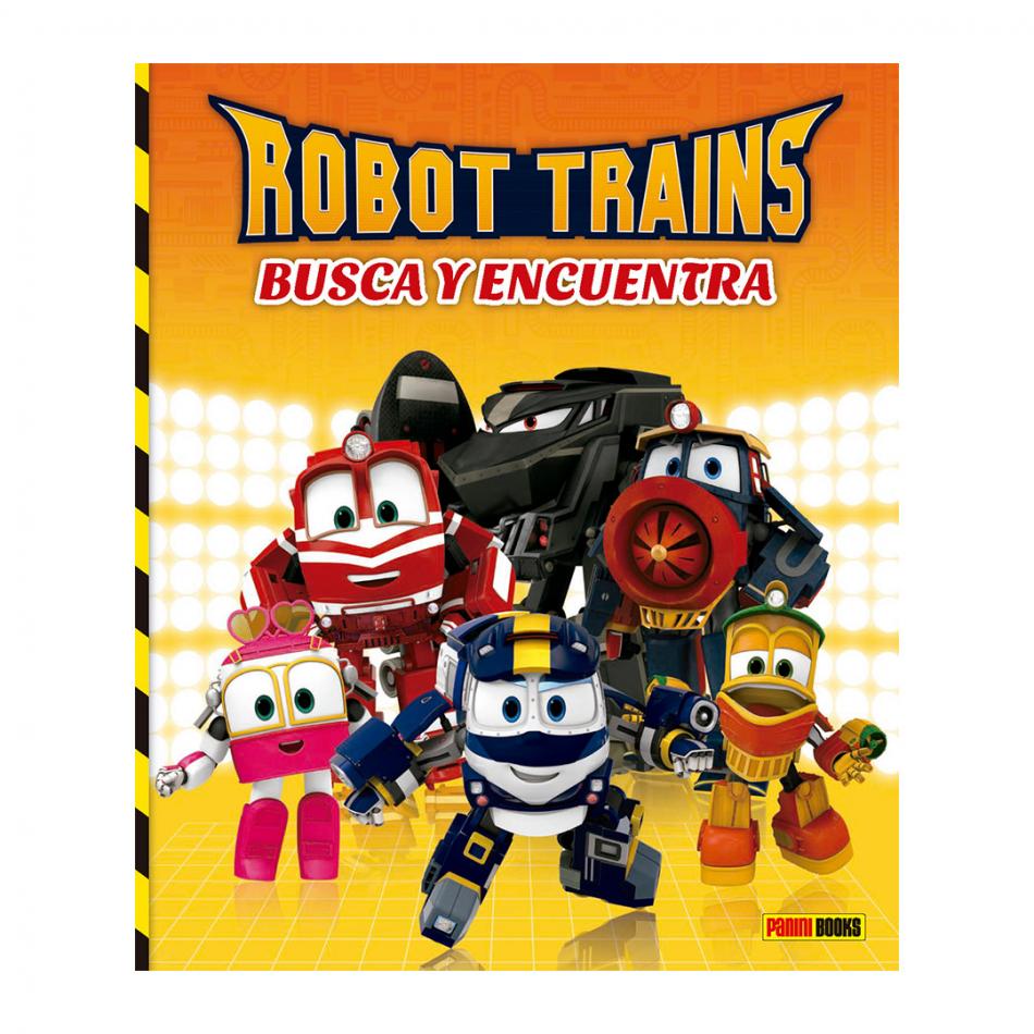 Busca y encuentra Robot Trains