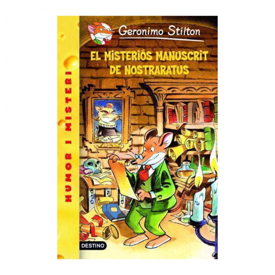 Geronimo Stilton. Misteriós manuscrit nostrarat