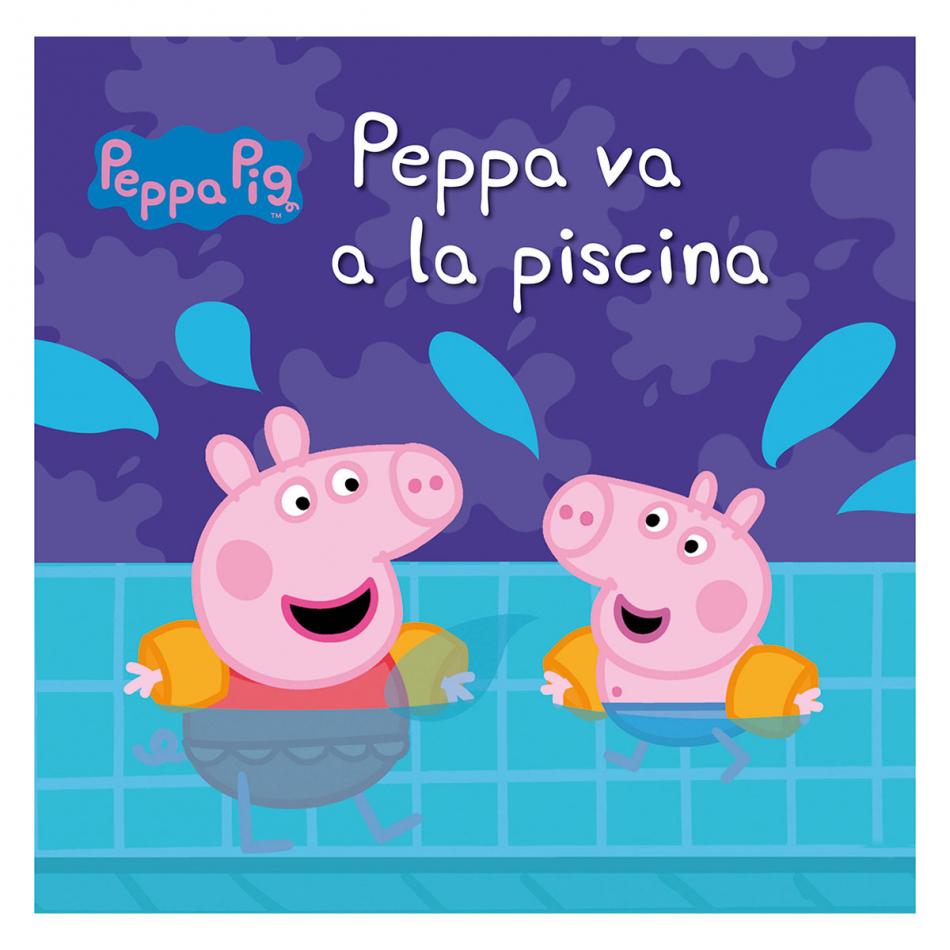 Peppa Pig. Peppa va a la piscina