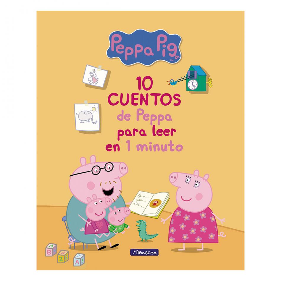 Peppa Pig. 10 Cuentos de Peppa para leer en 1 minuto