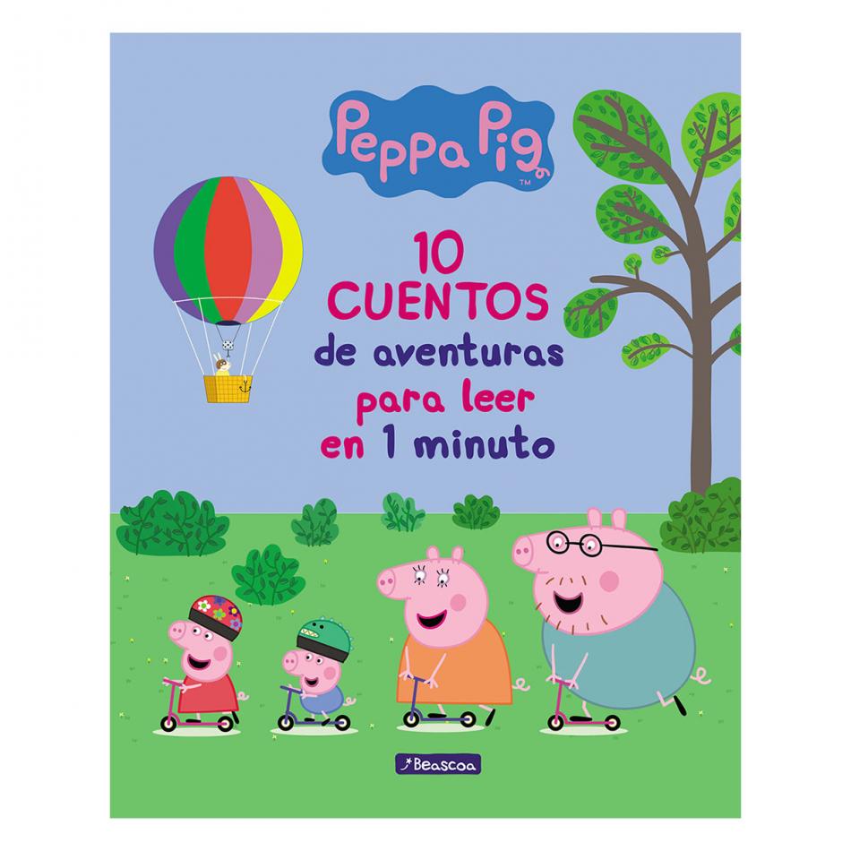 Peppa Pig. 10 Cuentos de aventuras para leer en 1 minuto