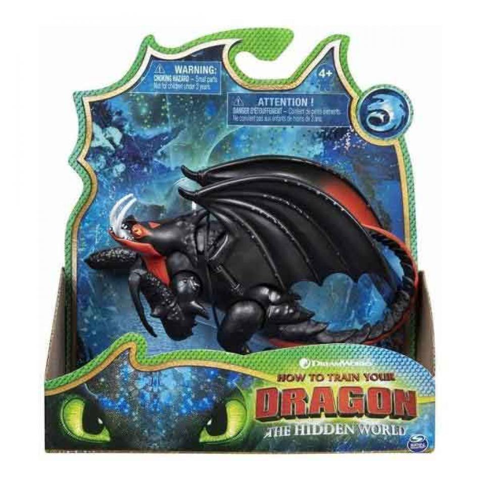 Dragón Articulado Deluxe - Aguijón Venenoso- Dragones 3