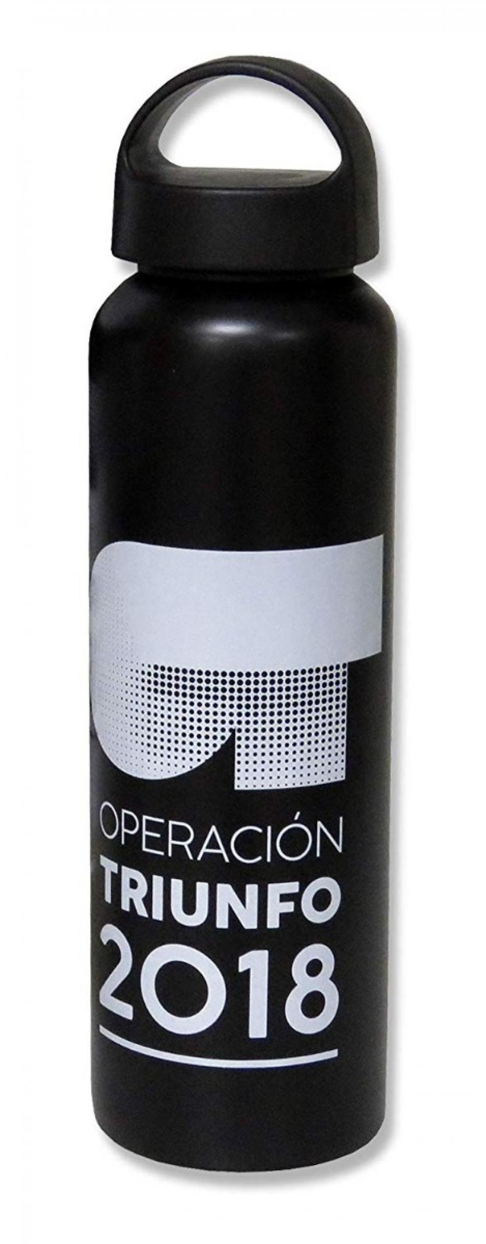 Botella Oficial Academia OT 2018 de aluminio 600ml | Color negro