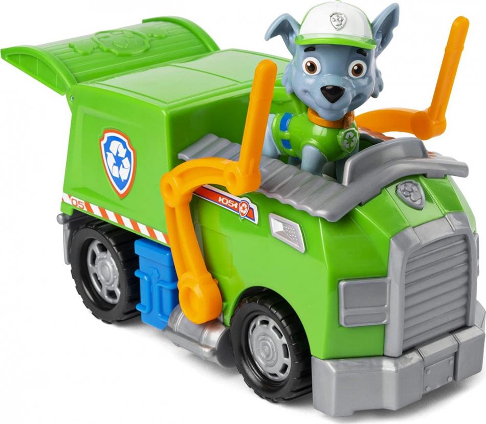 La Patrulla Canina Camión de Reciclaje - Rocky