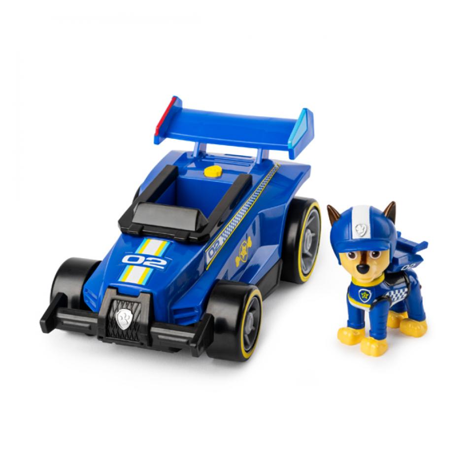 La Patrulla Canina Vehículo y Figura con Sonidos Race & GO - Chase