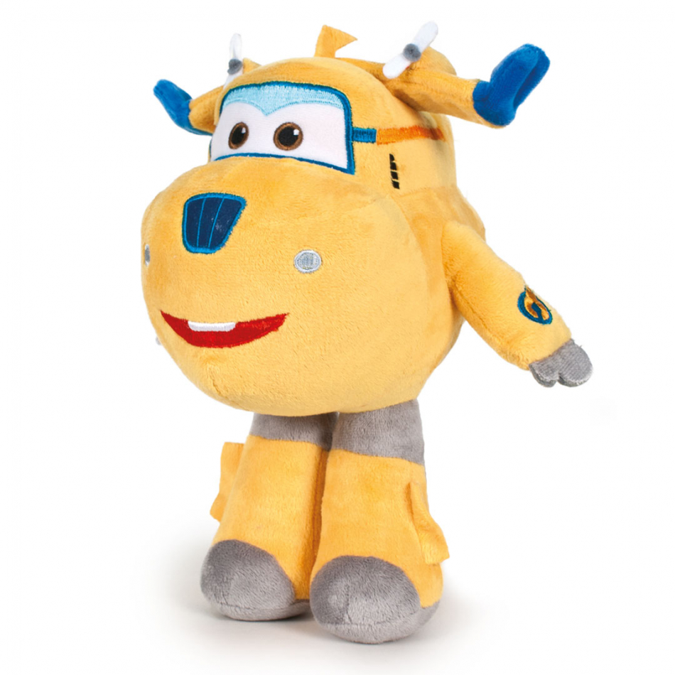 Peluche Donnie 20 cm Super Wings