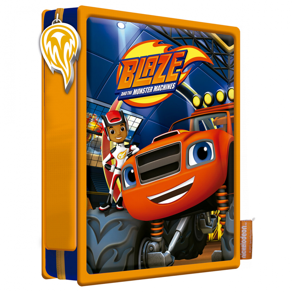 Estuche de 2 pisos pequeño Blaze and the Monster machines