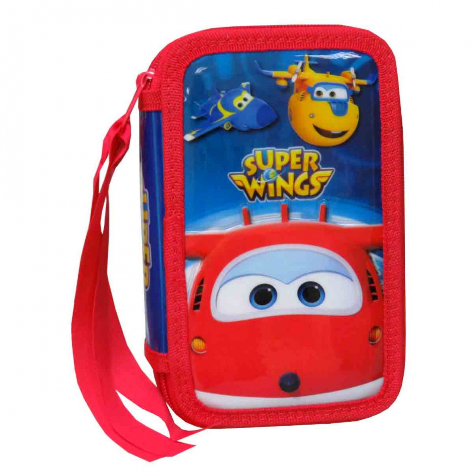 Estuche de 3 Pisos Super Wings