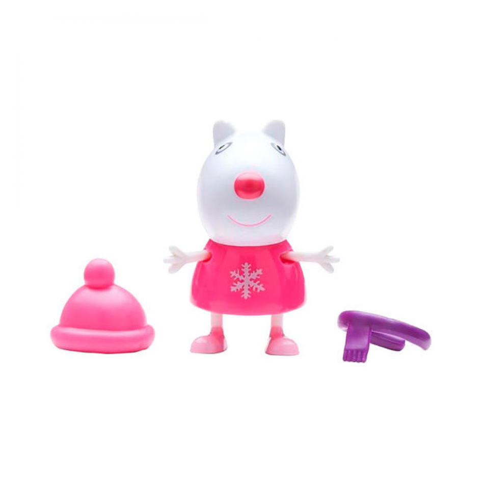 Figuras Fiesta de Disfraces Peppa Pig - Suzy Sheep