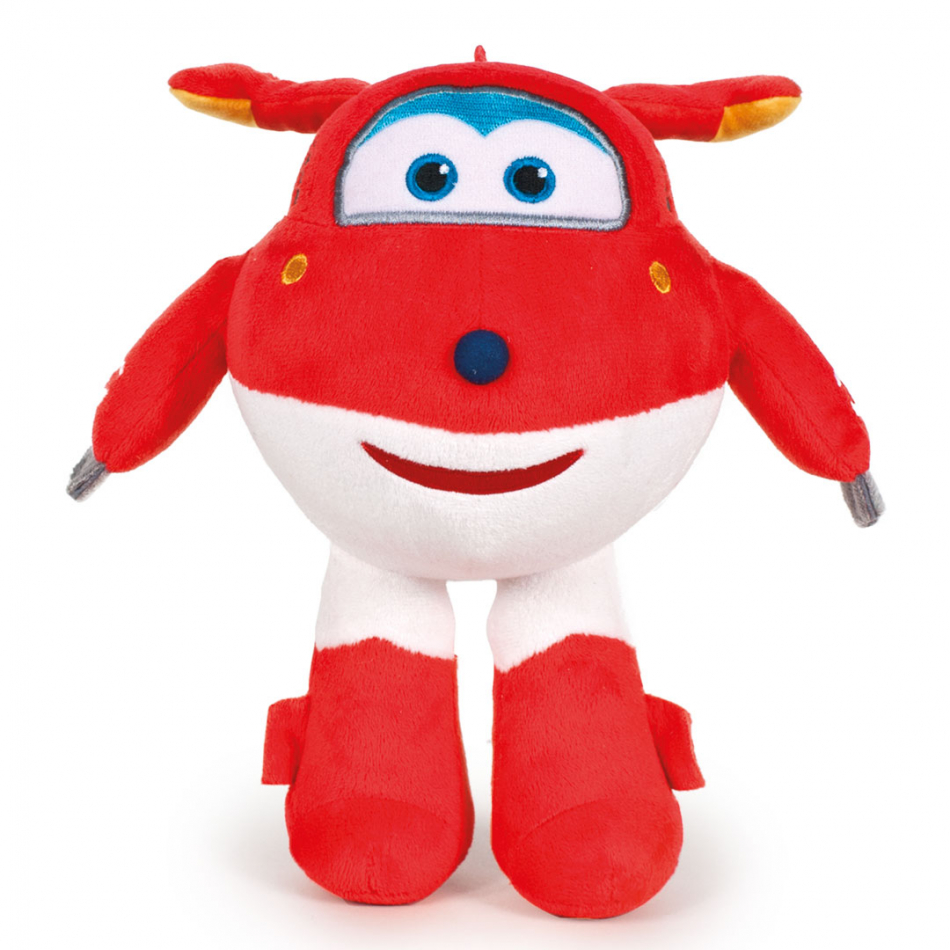 Peluche Jett 17 cm Super Wings