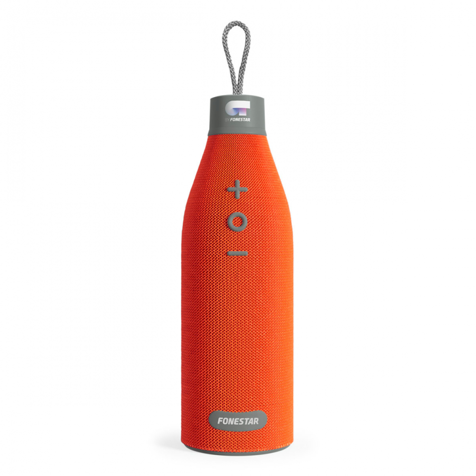 Altavoz bluetooth OT Orange Bottle-X