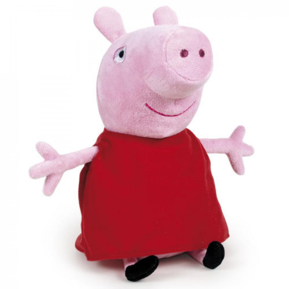Peluche Peppa Pig básico 24cm