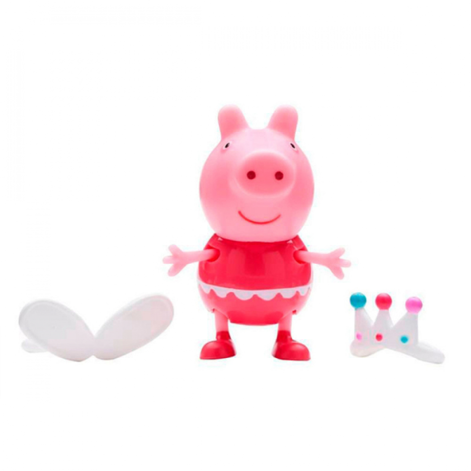 Figuras Fiesta de Disfraces Peppa Pig - Peppa