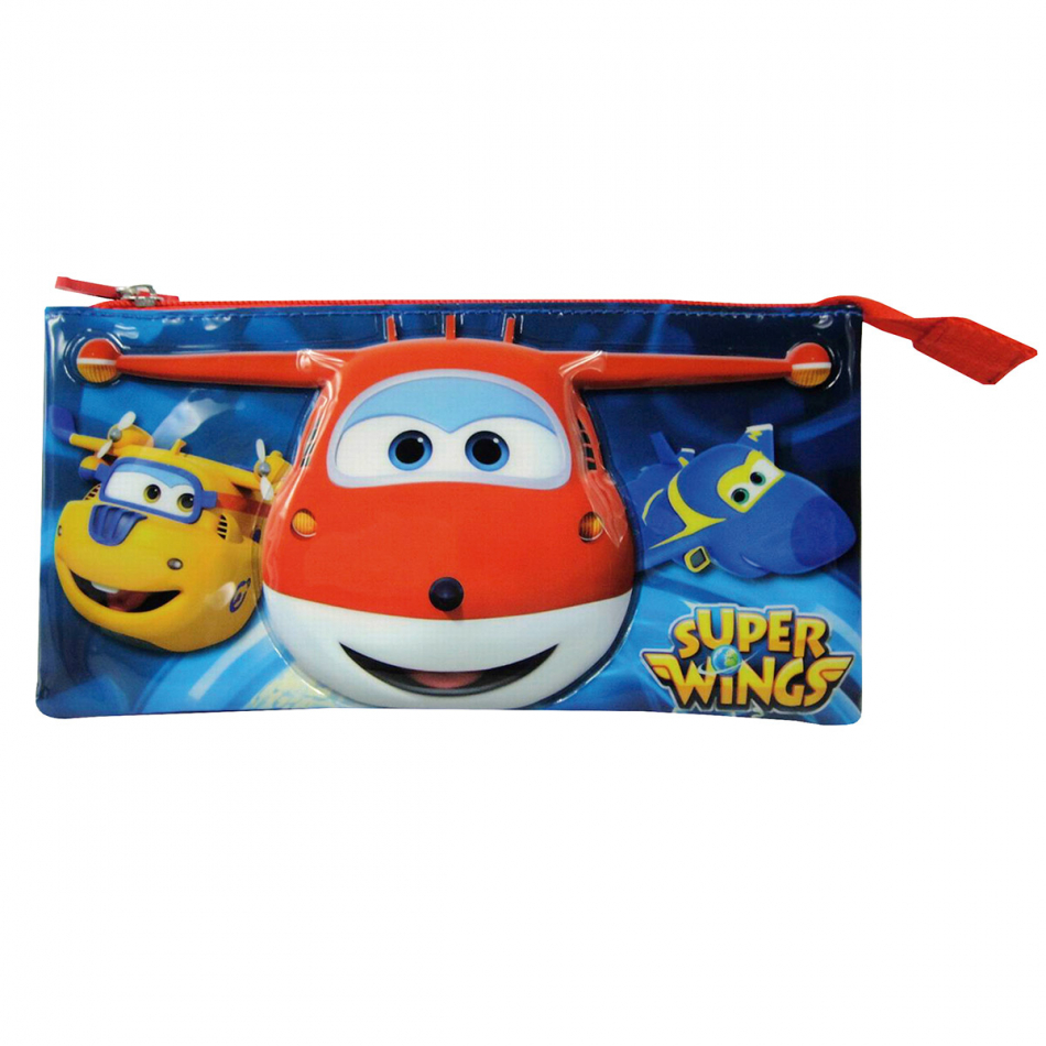 Estuche Triple Super Wings