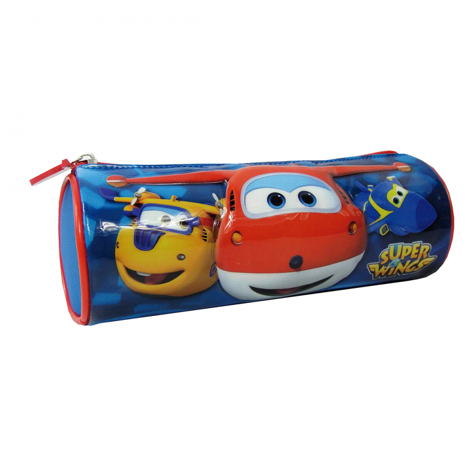 Estuche Cilíndrico Super Wings