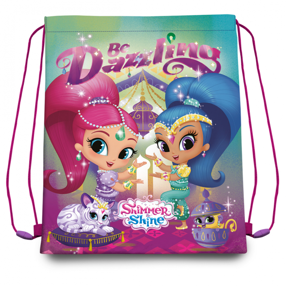 Gym bag 40x30 cm. Shimmer y Shine