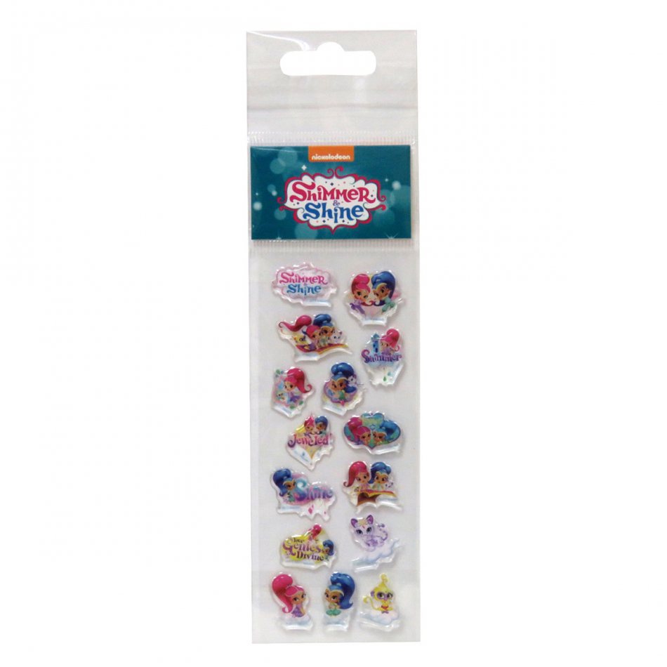 Stickers Relieve Shimmer y Shine