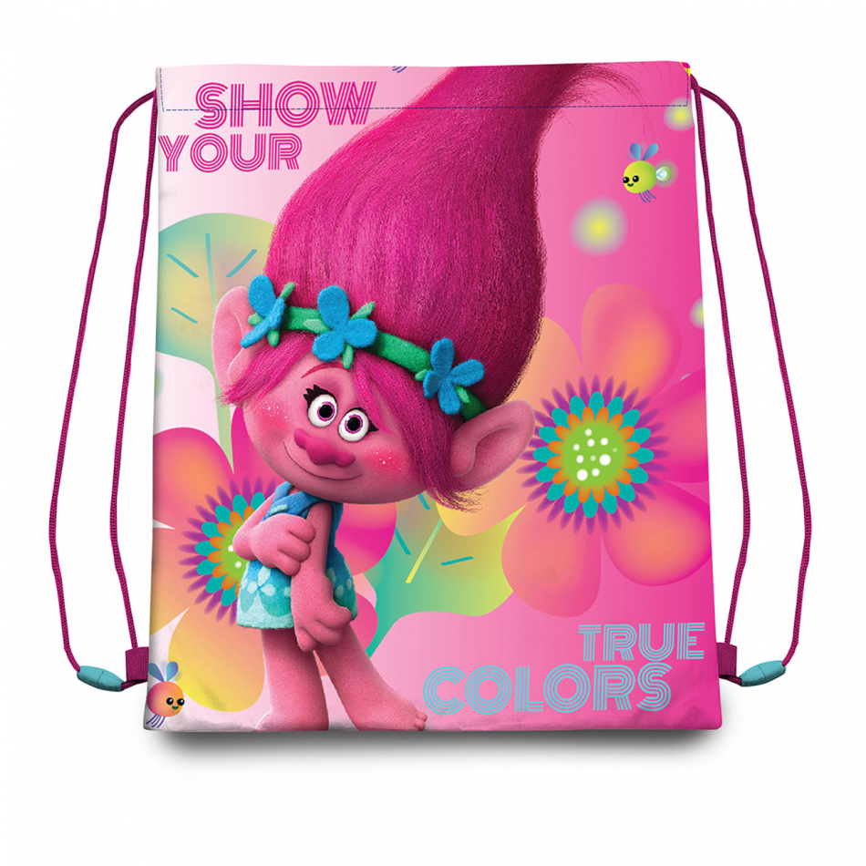 Gym bag 41cm. Trolls